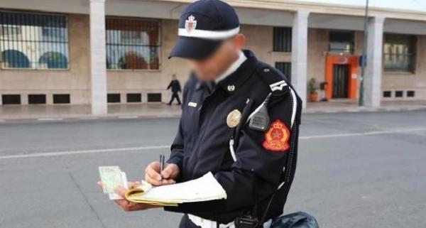 مديرية الأمن تكشف حقيقة دهس شرطي مرور وسط الشارع