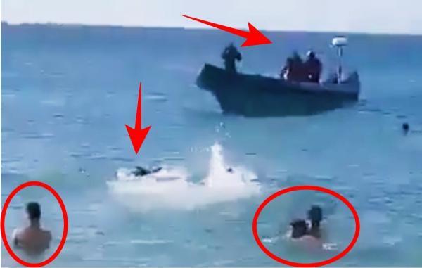 ولا في الاحلام: مغاربة كانوا مبحرين في طنجة حتى لقاو راسهم في إسبانيا .. كيفاش ؟؟ (فيديو)