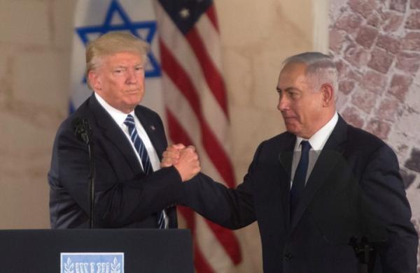 """تكريما لـ""""ترامب"""" ، نتنياهو يدشن مستوطنة جديدة تحمل اسمه ... و المفاجأة فوق أرض عربية غير """"فلسطين"""""""