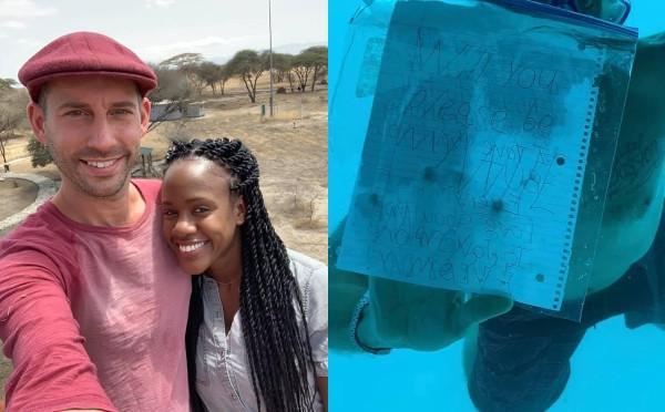 """طلب زواج تحت الماء ينتهي بمصرع """"العريس"""" غرقا (فيديو)"""