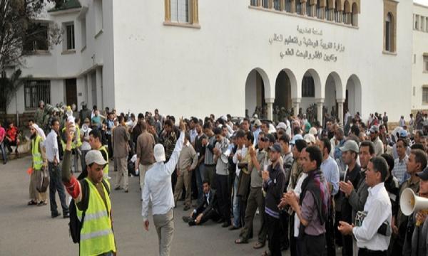 """إضراب الأساتذة ينعش خزينة حكومة """"العثماني"""" وهذا هو المبلغ الذي سيتم توفيره بعد الاقتطاع من أجور المضربين"""