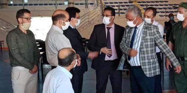 تعاون كل سلطات إقليم الرحامنة وشركائها لانجاح محطة الباكالوريا