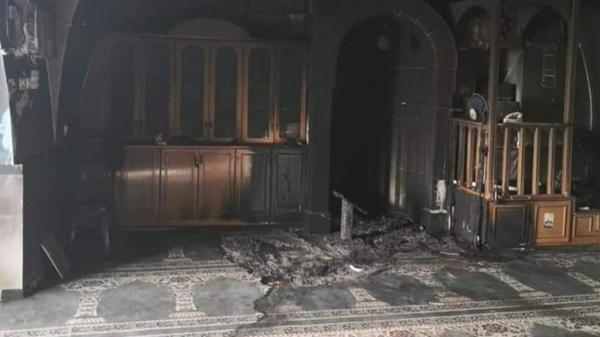 إحراق مسجد في القدس