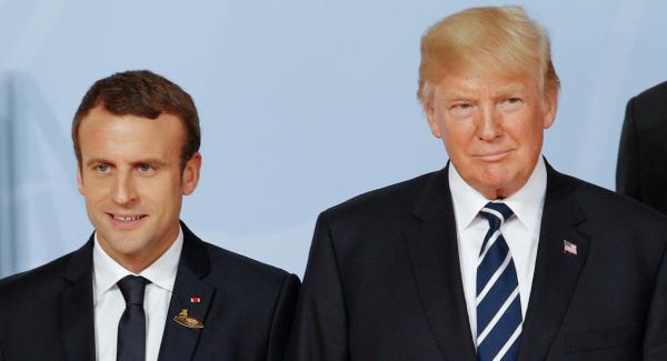 """الرئيس الفرنسي يفجرها في وجه """"ترامب"""": """"فرنسا لا توافق على قراركم بخصوص القدس"""""""