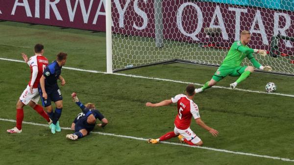 فنلندا تحقق فوزا تاريخيا على الدنمارك في كأس أوروبا