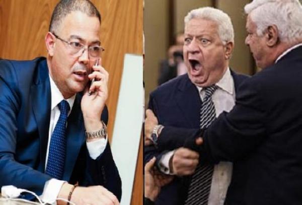 مرتضى منصور يُهدِّدُ فوزي لقجع (فيديو)