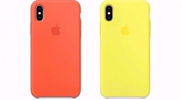 أبل تطرح 12 لوناً مختلفاً لأغطية آي فون إكس ووتش