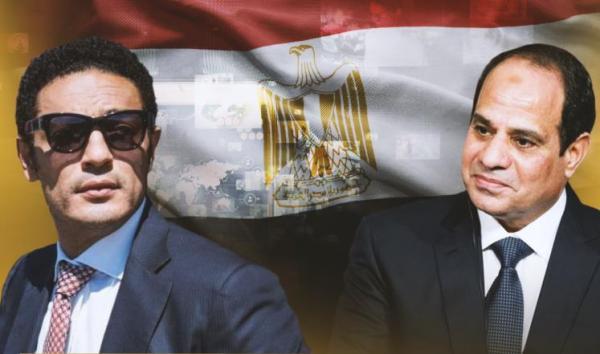"""للمرة الأولى.. """"السيسي"""" يرد على اتهامات الممثل والمقاول المصري """"محمد علي"""" (فيديو)"""