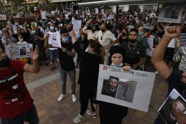"""موجة غضب واسعة على مواقع التواصل الاجتماعي بسبب جريمة قتل المغربي """"يونس"""" العنصرية والاحتجاجات تجتاح الجنوب الإسباني"""