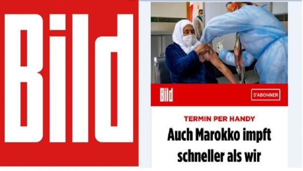 صحيفة ألمانية تستشيط غضبا بسبب الوتيرة التي يستفيد بها المغاربة من لقاح كورونا