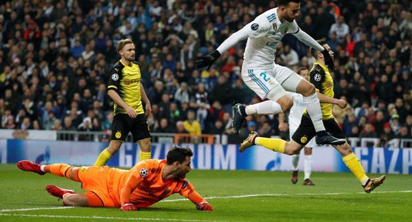 بالفيديو.. ريال مدريد يقتنص فوزا قيصريا من دورتموند