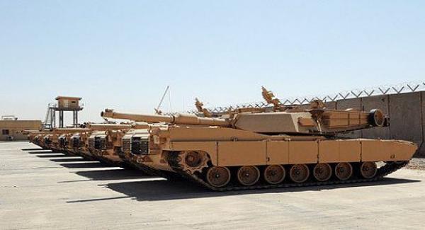 """قلق إسباني جزائري بعد رصد 127 دبابة """"أبرامز"""" المتطورة جدا في حوزة الجيش المغربي"""