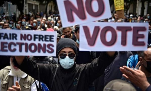 """منظمة العفو الدولية تندد ب """"تصعيد مروع في حملة القمع بالجزائر"""""""