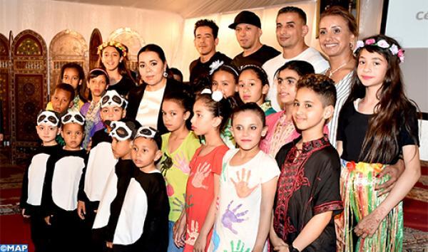 الأميرة للا أسماء تترأس حفل نهاية السنة الدراسية بمؤسسة الأطفال والشباب الصم
