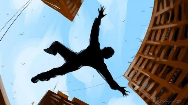 شرطي يحاول الانتحار من فوق بناية أمنية ومديرية الأمن تكشف تفاصيل الواقعة