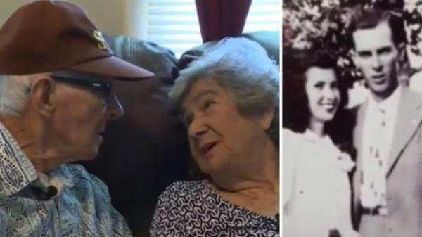 جمعهما الحب والموت.. حكاية زوجين عاشا 71 عاما وماتا في يوم واحد (فيديو )