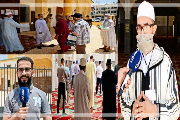 """بالفيديو: فرحة لا توصف بين المصلين بعد افتتاح """"بيوت الله"""" من جديد.. شهادات مؤثرة جدا"""