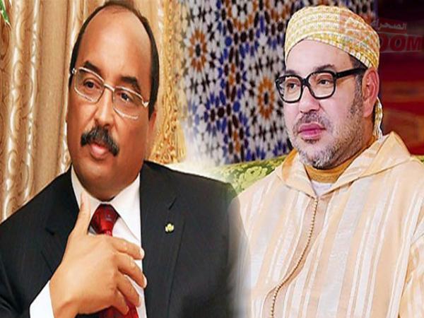 الملك محمد السادس يُعزي الرئيس الموريتاني