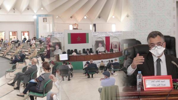 """عمالة سطات تحتفل مع الجالية المغربية بمناسبة """"اليوم الوطني للمهاجر"""" في ظل فيروس كورونا (فيديو)"""