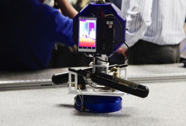 تانغو يسافر الى الفضاء لالتقاط صور ثلاثية الابعاد
