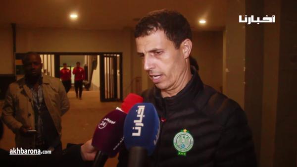 تصريح جمال السلامي بعد تأهل الرجاء في الديربي المثير