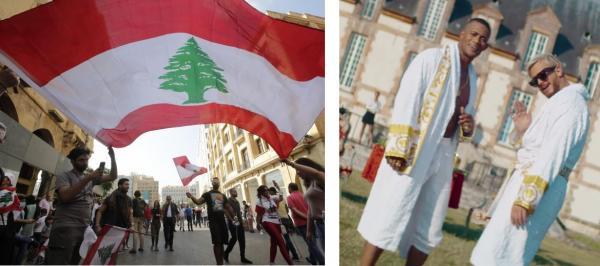 """اللبنانيون يحتجون على أنغام أغنية """"إنساي"""" للمجرد (فيديو)"""