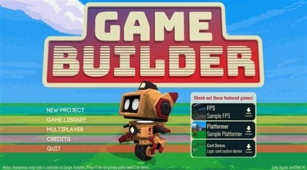 """""""غوغل جيم بيلدر"""" يتيح للمبتدئين تصميم ألعاب ثلاثية الأبعاد"""