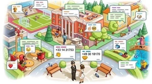 تيليغرام تتيح إنشاء دردشة حسب الموقع الجغرافي