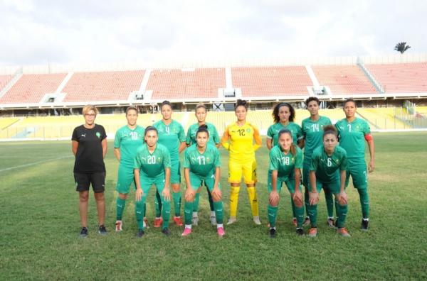 المنتخب المغربي النسوي ينهزم أمام نظيره الغاني