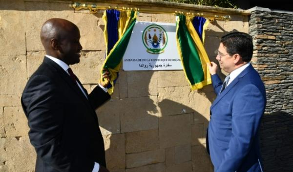 الرباط: تدشين سفارة رواندا بالمغرب