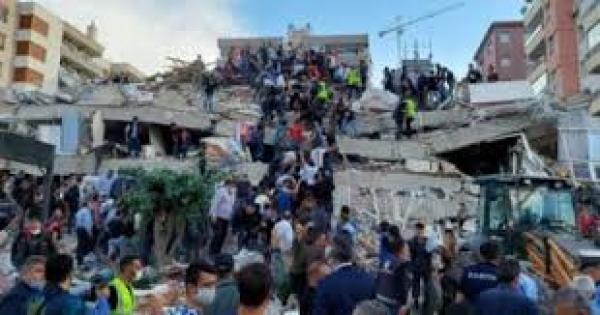 ارتفاع ضحايا زلزال إزمير إلى 35 قتيلا