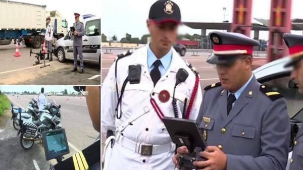 """قريبا...الدرك الملكي يطلق طائرات """"درون"""" لمراقبة مخالفات السير بالطريق السيار (فيديو)"""