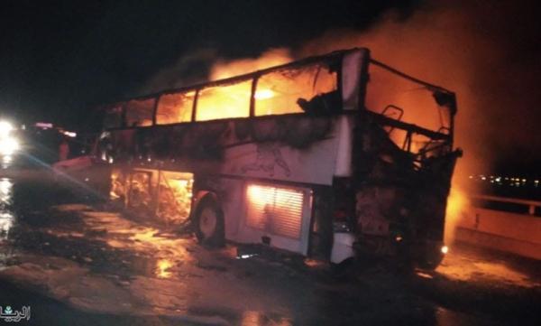 عاجل بالفيديو: حادث مروع بمكة يتسبب في وفاة أكثر من 30 معتمراً