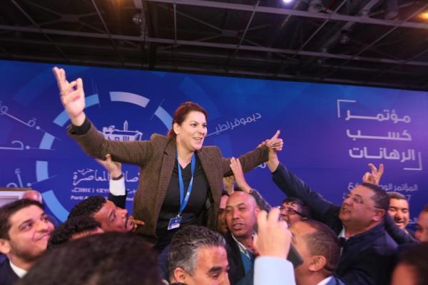 """""""هجوم"""" على """"المنصوري"""" بعد رفضها عريضة لعقد مجلس وطني للبام"""