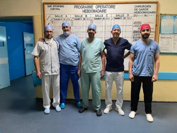 فريق طبي يجري عملية جراحية الأولى من نوعها بجهة بني ملال خنيفرة (صور)