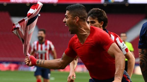أتلتيكو مدريد يقلب تأخره أمام أوساسونا إلى فوز مثير ويملك مصيره بيده في الجولة الأخيرة