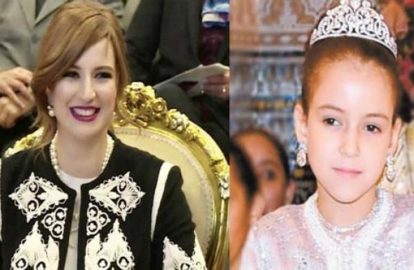 الأميرتين لالة سلمى ولالة خديجة في ظهور نادر مساء اليوم بالرباط (صور)