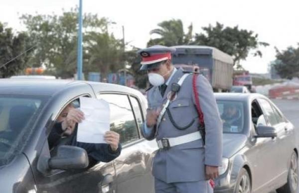 اعتقال أجنبي خرق قانون الطوارئ الصحية وارتكب عددا من الجنح