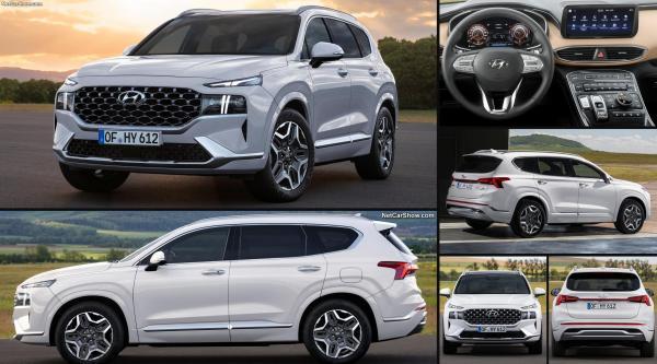 Hyundai santa fe 2021...الوحش الكوري القادم للمنافسة بالمغرب