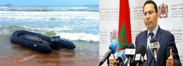 الخلفي : المغرب عازم ومصمم على محاربة الهجرة السرية وهناك تداخل بين تجارة المخدرات والإتجار في البشر
