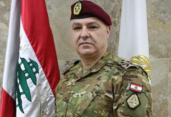 قائد الجيش اللبناني يشكر الملك محمد السادس
