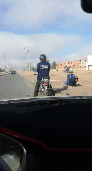 لباس الشرطة الايطالية يصل الى المغرب!