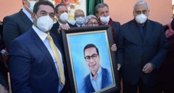 اطلاق اسم صلاح الدين الغوماري على مدرسة عمومية بمكناس (صور)