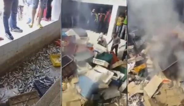 ضربوهم بعامين ديال الحبس..القضاء يُدين 9 متورطين في تخريب سوق للسمك بدعوى المقاطعة