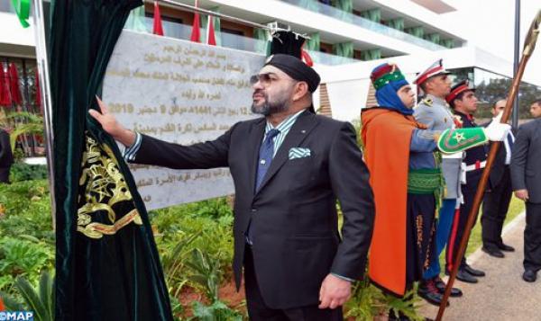 """الملك يدشن بسلا """"مركب محمد السادس لكرة القدم"""" بكلفة 630 مليون درهم"""
