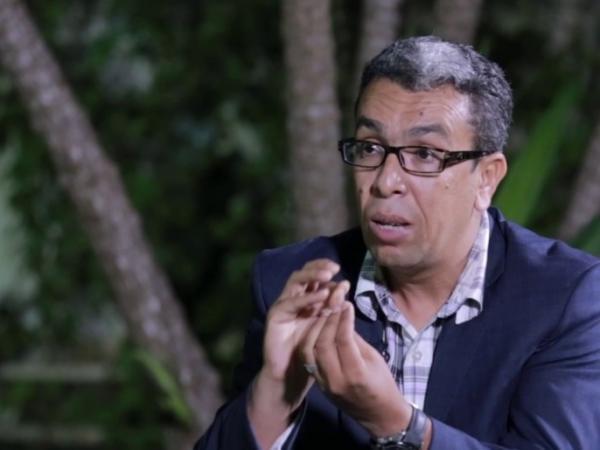 حميد المهدوي ضحية حادثة سير خطيرة  (صورة)