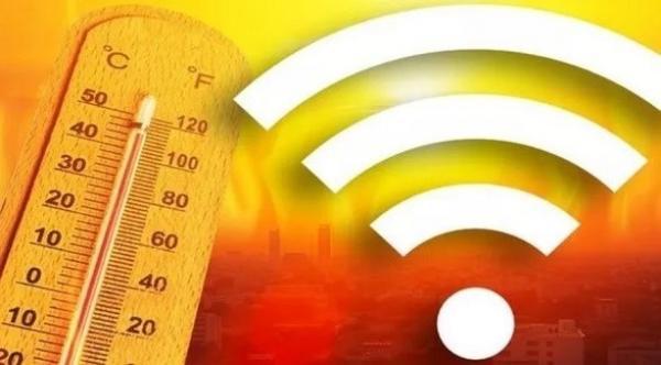 هل تؤثر درجة الحرارة على شبكة الواي فاي؟