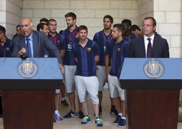 بطولة كأس العالم 2014 بالبرازيل قد تلغي جولة برشلونة خلال الصيف المقبل