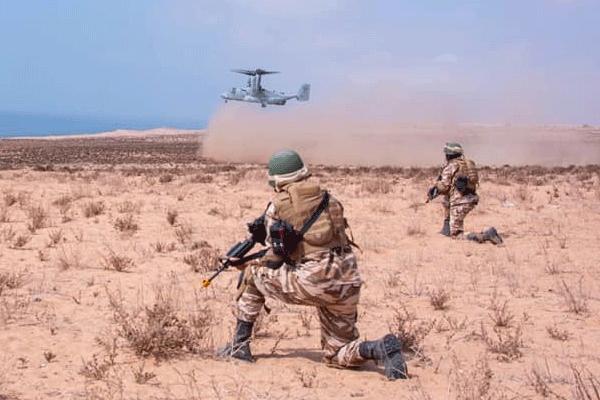 تمارين جديد للقوات الخاصة المغربية مع قوات المارينز الأمريكية (فيديو)