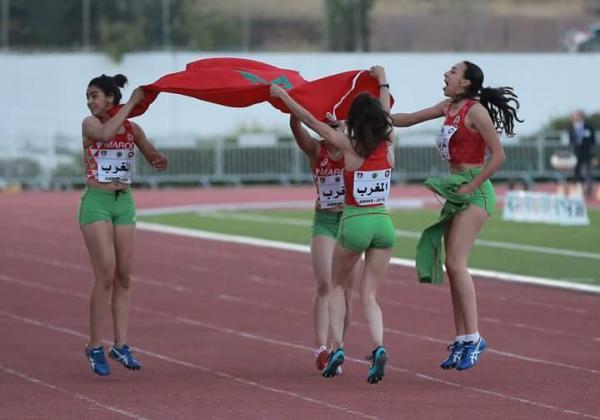 المنتخب الوطني لألعاب القوى يتوج بتونس بطلا للبطولة العربية ذكورا وإناثا